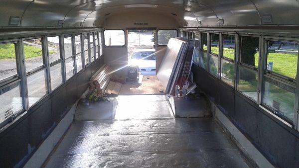 School bus floor insulation