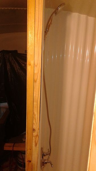 Diy shower stall