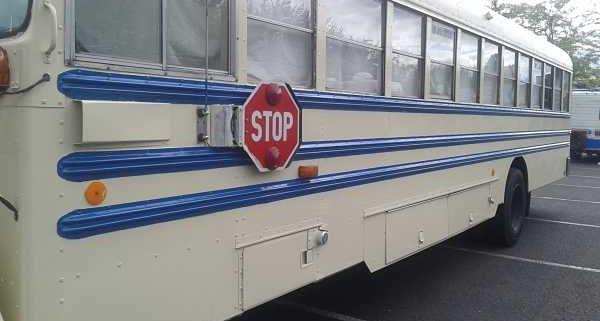Bus conversion paint