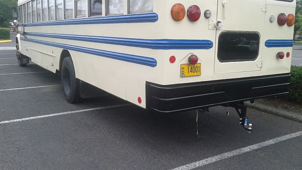 School bus conversion paint