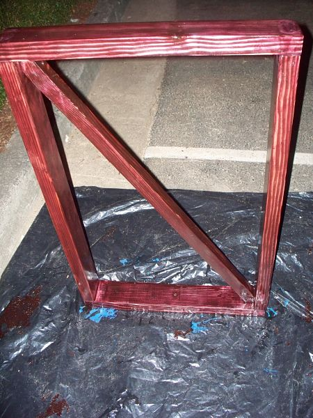 School bus conversion stairs railing